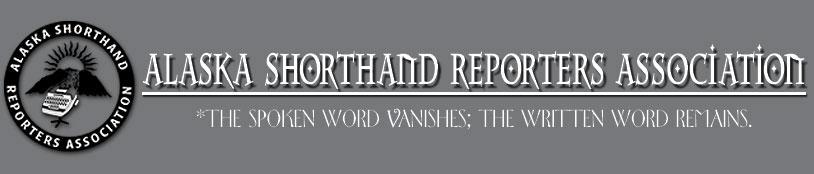 Alaska Shorthand Reporters Logo